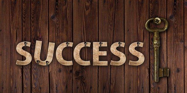 成功へのカギ